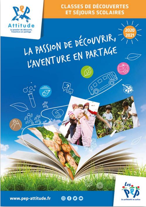 Catalogue des classes découvertes & séjours scolaires - 2020/21