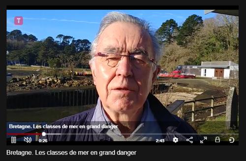 L'appel de détresse des classes de mer bretonnes [Vidéo]